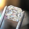5.68ct Antique Emerald Cut Diamond, GIA K VS2 13