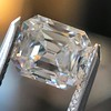 5.68ct Antique Emerald Cut Diamond, GIA K VS2 7
