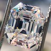 5.68ct Antique Emerald Cut Diamond, GIA K VS2 0