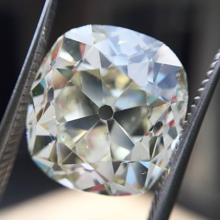 8.44 Antique Cushion Cut Diamond