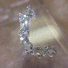 1.17ctw French Cut Diamond Parcel 13