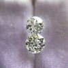 1.19ctw Old European Cut Diamond Pair 1