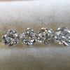1.25 tcw Old European Cut 5-stone Diamond Suite 1