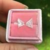 1.27tcw Butterfly Wings Diamond Pair 7