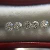 1.35tcw Old European Cut Diamond 5-stone Suite 5
