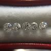 1.35tcw Old European Cut Diamond 5-stone Suite 1