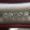 1.35tcw Old European Cut Diamond 5-stone Suite 0