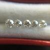 1.35tcw Old European Cut Diamond 5-stone Suite 6