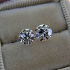 1.83ctw Old European Cut Diamond Pair, GIA G VS1, GIA G VS2 7