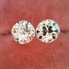 2.04ctw Old European Cut Diamond Pair, GIA D VS2/E SI1 10