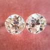 2.04ctw Old European Cut Diamond Pair, GIA D VS2/E SI1 9