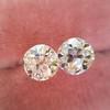2.04ctw Old European Cut Diamond Pair, GIA D VS2/E SI1 2