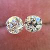 2.04ctw Old European Cut Diamond Pair, GIA D VS2/E SI1 3