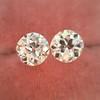 2.04ctw Old European Cut Diamond Pair, GIA D VS2/E SI1 11