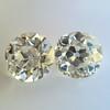 2.04ctw Old European Cut Diamond Pair, GIA D VS2/E SI1 13