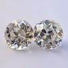 2.04ctw Old European Cut Diamond Pair, GIA D VS2/E SI1 6