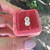 2.10ctw Old European Cut Diamond Pair, GIA I SI1/GIA I VS2 11
