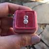 2.10ctw Old European Cut Diamond Pair, GIA I SI1/GIA I VS2 15
