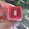 2.10ctw Old European Cut Diamond Pair, GIA I SI1/GIA I VS2 8