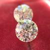 2.10ctw Old European Cut Diamond Pair, GIA I SI1/GIA I VS2 5