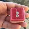 2.10ctw Old European Cut Diamond Pair, GIA I SI1/GIA I VS2 17
