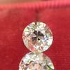 2.10ctw Old European Cut Diamond Pair, GIA I SI1/GIA I VS2 9