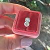 2.10ctw Old European Cut Diamond Pair, GIA I SI1/GIA I VS2 0
