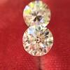 2.10ctw Old European Cut Diamond Pair, GIA I SI1/GIA I VS2 4