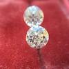 2.10ctw Old European Cut Diamond Pair, GIA I SI1/GIA I VS2 3