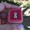 2.10ctw Old European Cut Diamond Pair, GIA I SI1/GIA I VS2 13