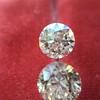 2.10ctw Old European Cut Diamond Pair, GIA I SI1/GIA I VS2 6