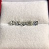 2.22ctw Antique Cushion Cut 5-stone Suite 12
