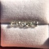 2.22ctw Antique Cushion Cut 5-stone Suite 11