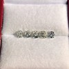 2.22ctw Antique Cushion Cut 5-stone Suite 7