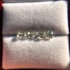 2.22ctw Antique Cushion Cut 5-stone Suite 4