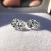 2.49ctw Antique Pear Diamond Pair GIA E VS2/GIA D VS2 2