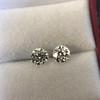 2.74ctw Old European Cut Diamond Pair GIA L VS2 GIA L VS2 16