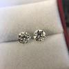 2.74ctw Old European Cut Diamond Pair GIA L VS2 GIA L VS2 17