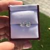 2.74ctw Old European Cut Diamond Pair GIA L VS2 GIA L VS2 7