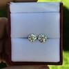 2.74ctw Old European Cut Diamond Pair GIA L VS2 GIA L VS2 5