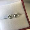 2.74ctw Old European Cut Diamond Pair GIA L VS2 GIA L VS2 4