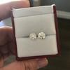 2.74ctw Old European Cut Diamond Pair GIA L VS2 GIA L VS2 12