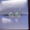 2.74ctw Old European Cut Diamond Pair GIA L VS2 GIA L VS2 3