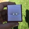 2.74ctw Old European Cut Diamond Pair GIA L VS2 GIA L VS2 6
