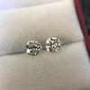2.74ctw Old European Cut Diamond Pair GIA L VS2 GIA L VS2 2