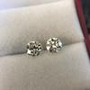 2.74ctw Old European Cut Diamond Pair GIA L VS2 GIA L VS2 18