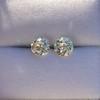 2.74ctw Old European Cut Diamond Pair GIA L VS2 GIA L VS2 0