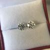 2.74ctw Old European Cut Diamond Pair GIA L VS2 GIA L VS2 15