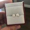 2.74ctw Old European Cut Diamond Pair GIA L VS2 GIA L VS2 11