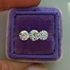 2.79ctw Old European Cut Diamond 3-Stone Suite 1.11ct center (GIA H VS2), and .84ct (GIA H VS2) and .84ct (GIA G VS1) 18